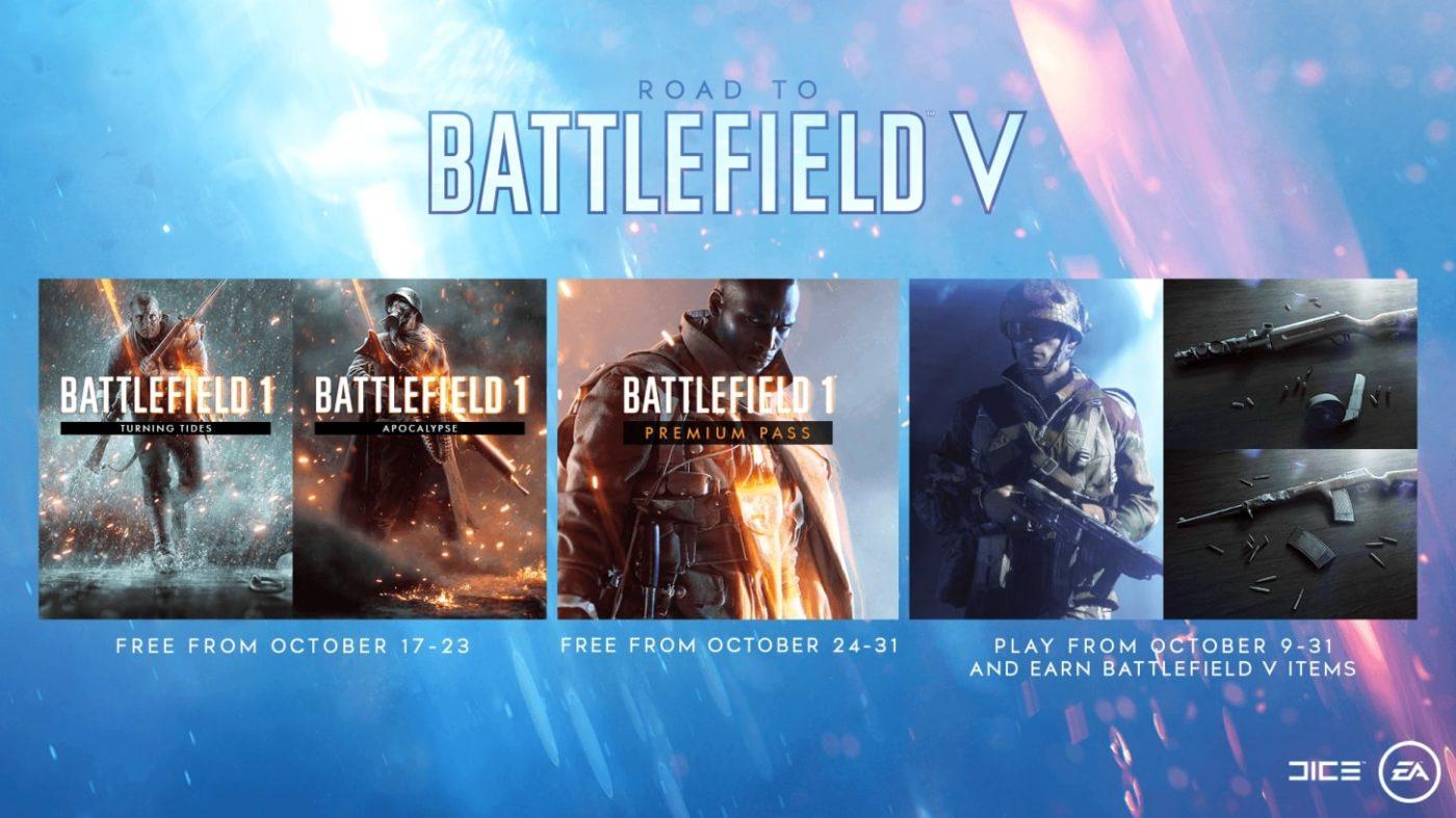 battlefield 1 free dlc