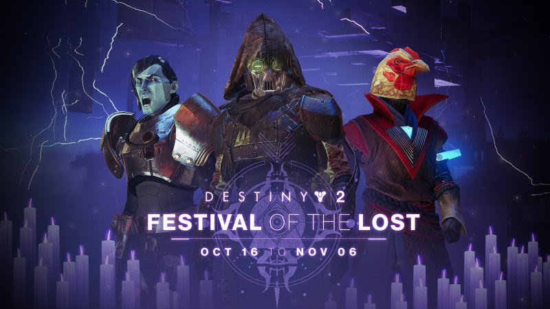 Destiny 2 Festival of the Lost Trailer Reminds You Its Starting Tomorrow