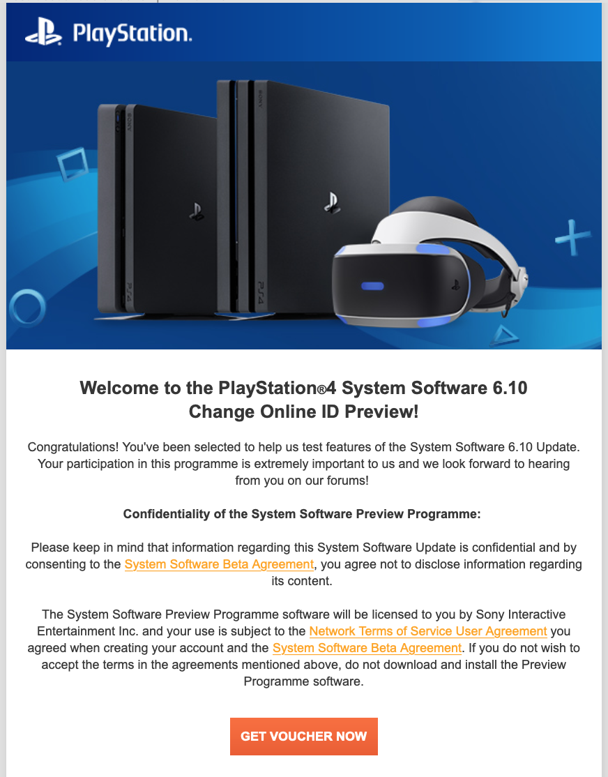 ps4 change online id preview, PS4 Change Online ID Invite Preview Invites Being Sent Out by Sony, MP1st, MP1st