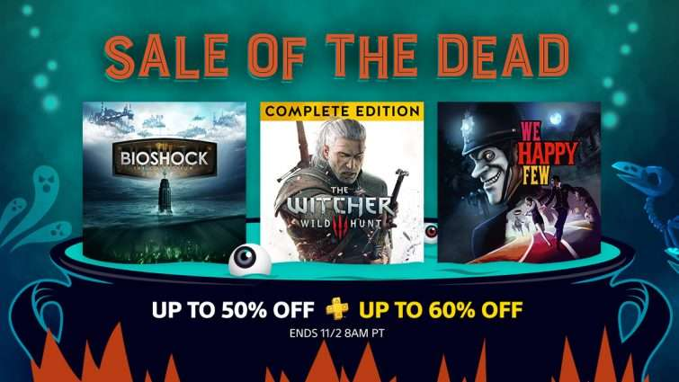 psn sale of the dead