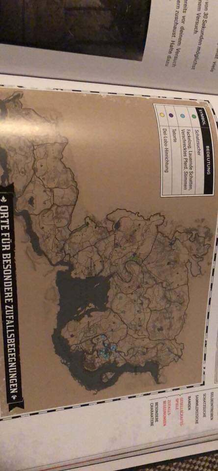 Red Dead 2 Map Leaked in Full
