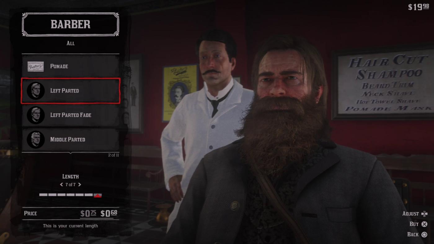 red dead 2 beard tips