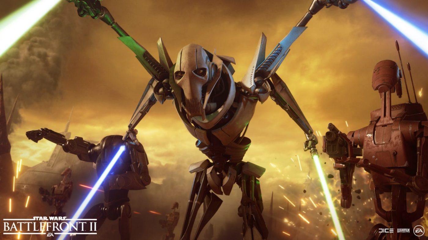 battlefront 2 general grievous release date