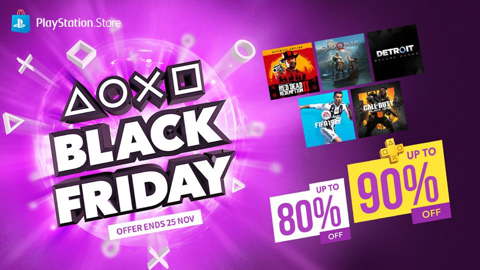 Asia Playstation Store Black Friday Sale Listed Along With 10 Off Total Purchase Code