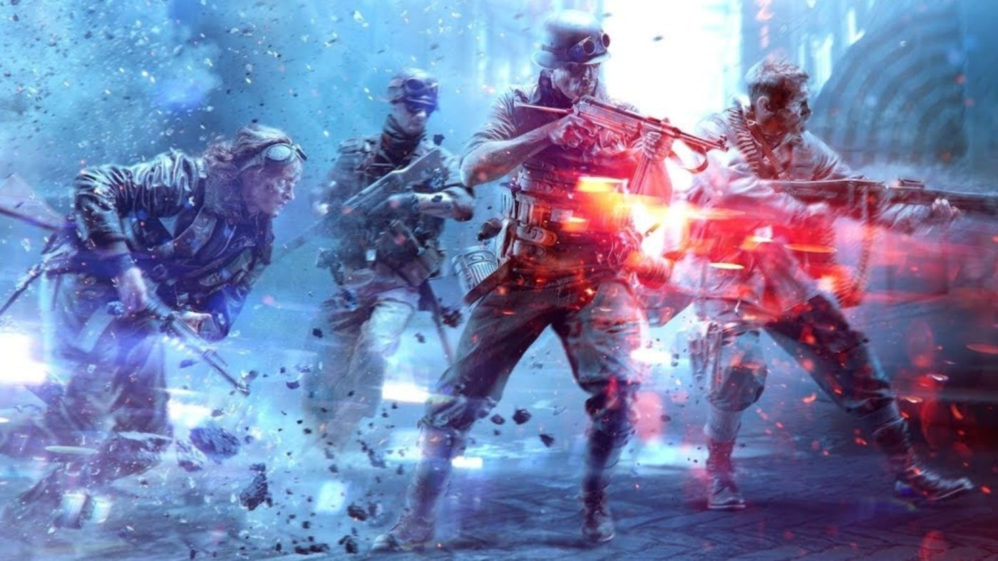 battlefield 5 flashing screen