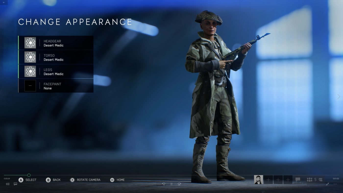 battlefield 5 female soldiers
