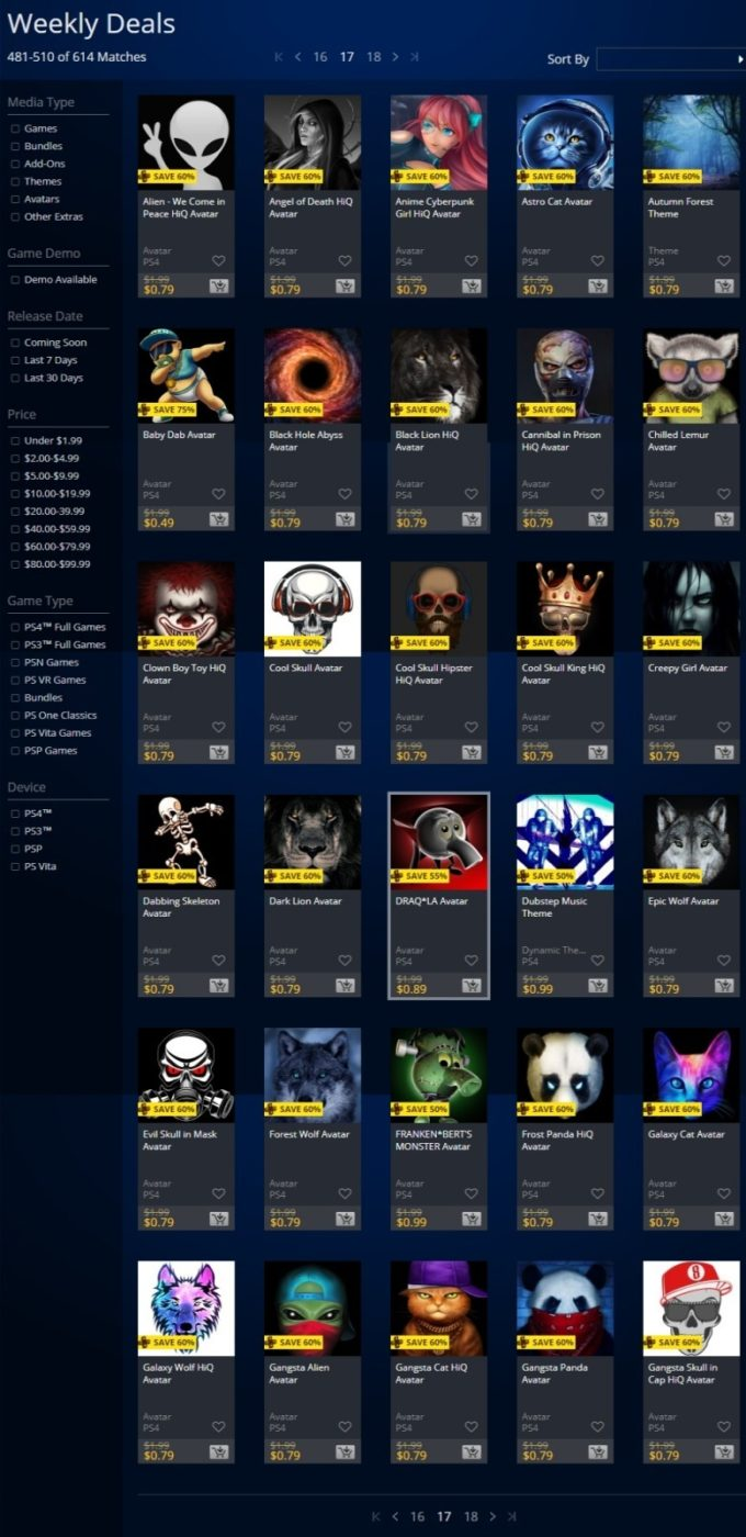 """playstation store sale, PlayStation Store Sale for the Week Is Now Live, Here's the """"Banner-less"""" Big List of Deals, MP1st, MP1st"""