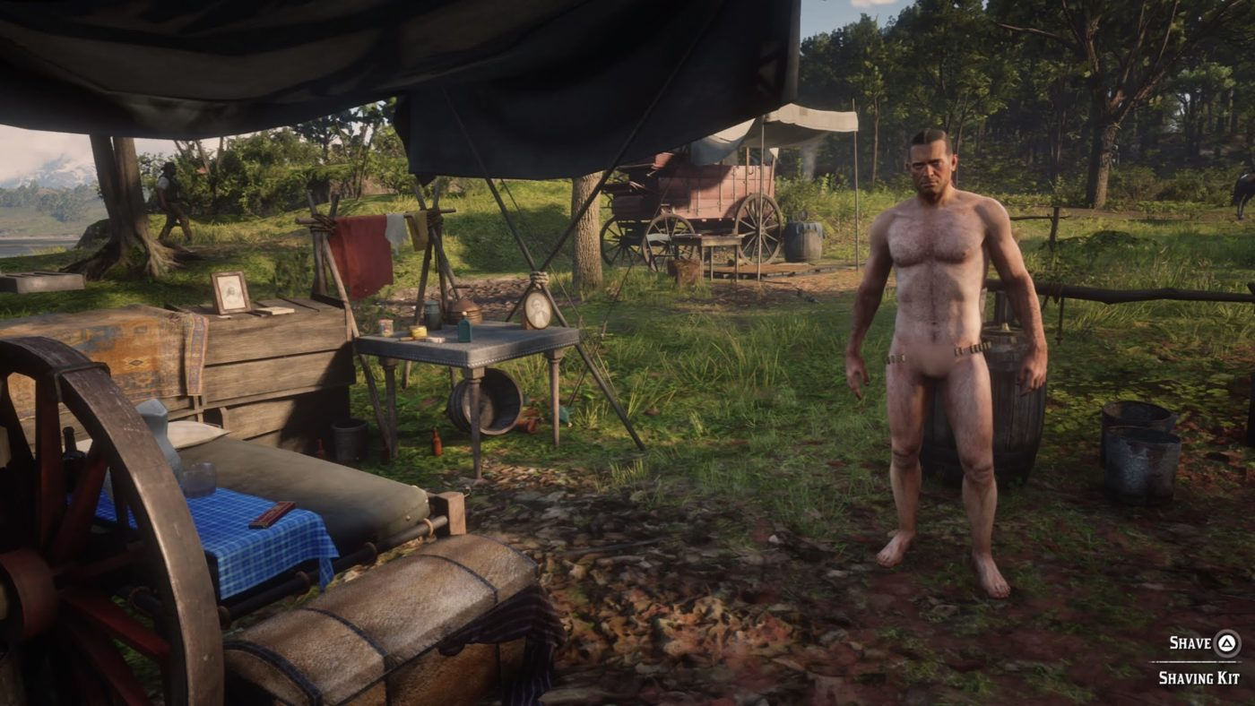 red dead 2 nude mod, There's a Red Dead Redemption 2 Nude Mod, Here's Our First Look at Naked Barebacked Horse Riding, MP1st, MP1st