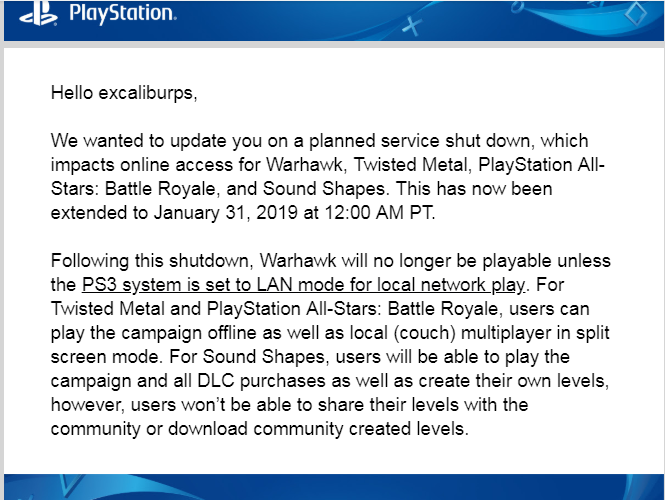 Warhawk, Sound Shapes, PS All-Stars, Twisted Metal PS3