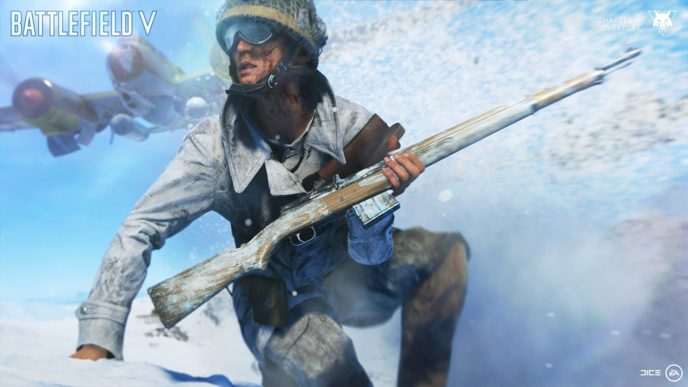 battlefield 5 french soldier