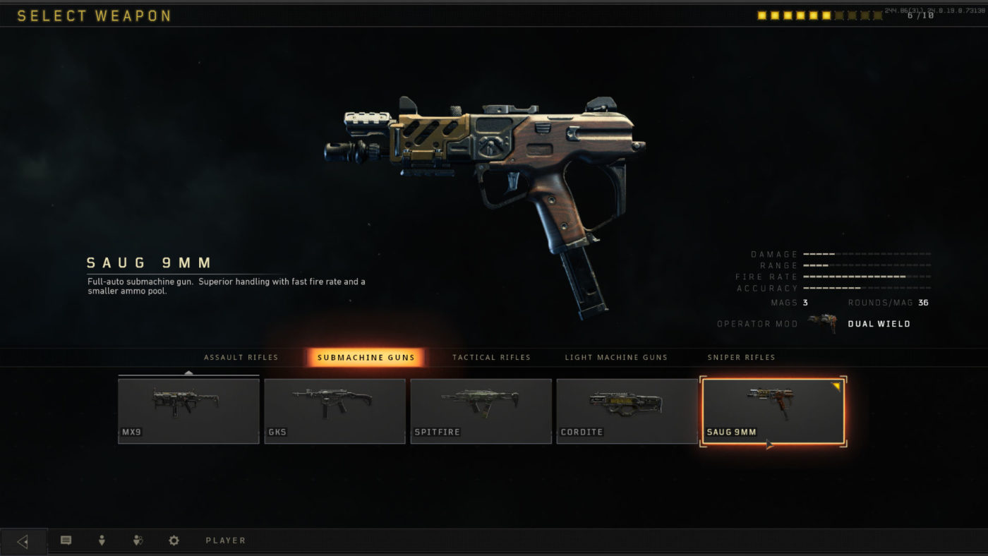 black ops 4 best smg