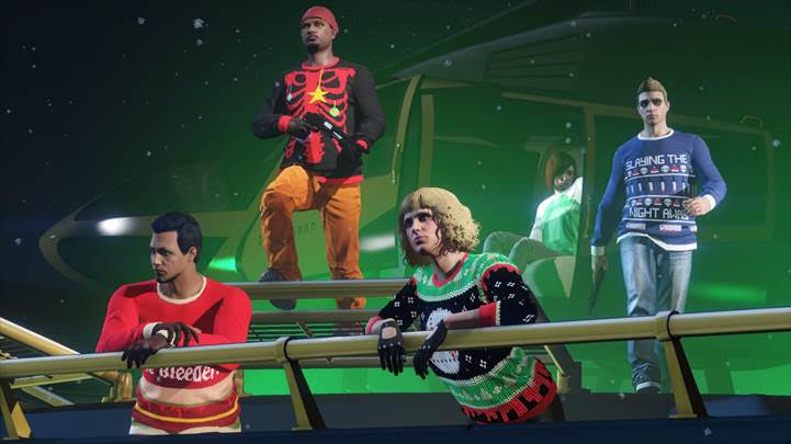 gta online holiday event
