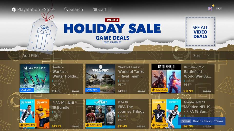 Playstation Store Holiday Sale Week 3 Is Live Here Are The