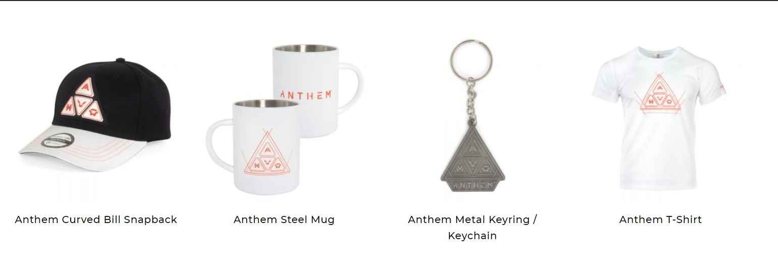 , Anthem Apparel and Merchandise Now Up for Purchase, Here's What's Available, MP1st, MP1st