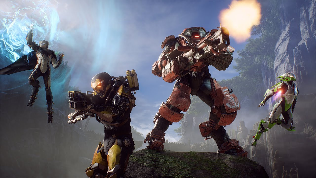anthem new weapons