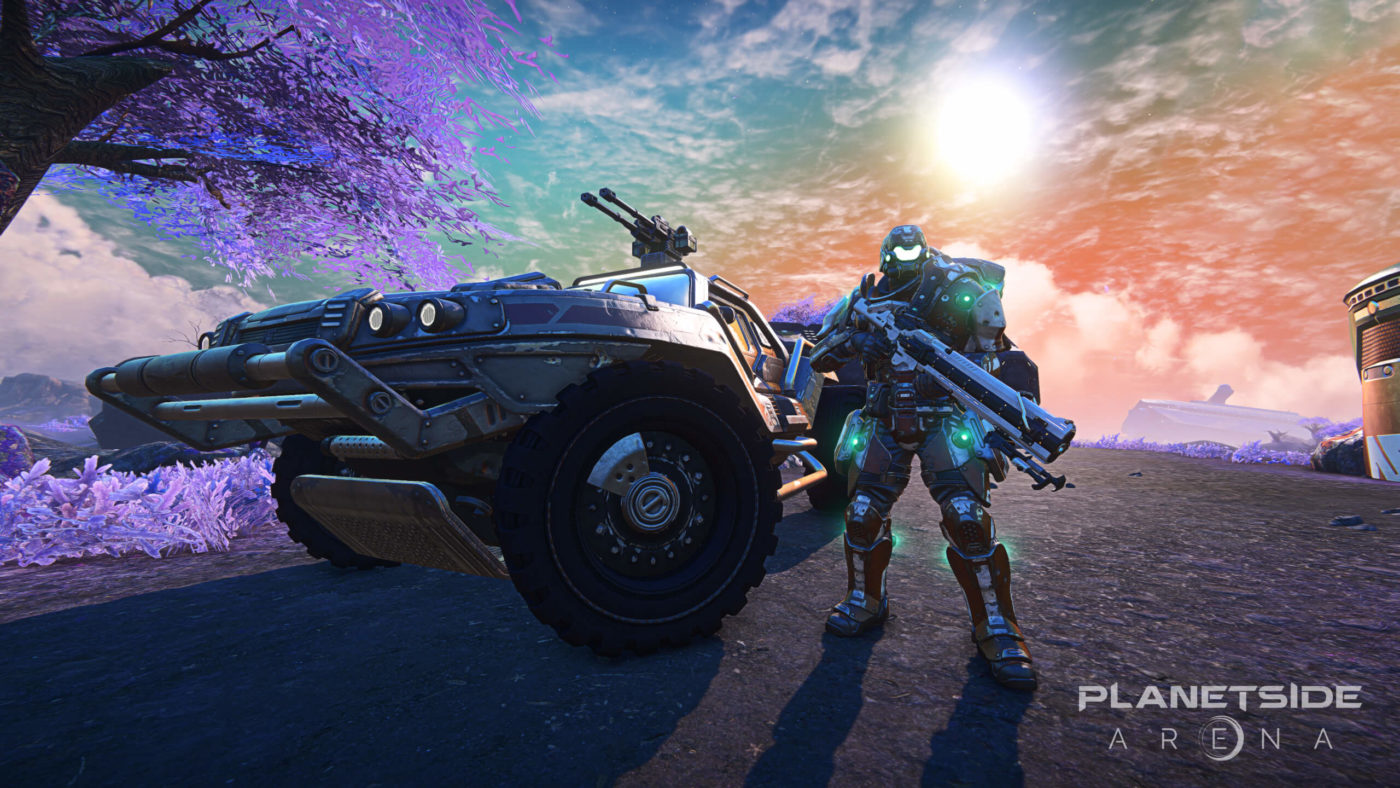 planetside arena new release date