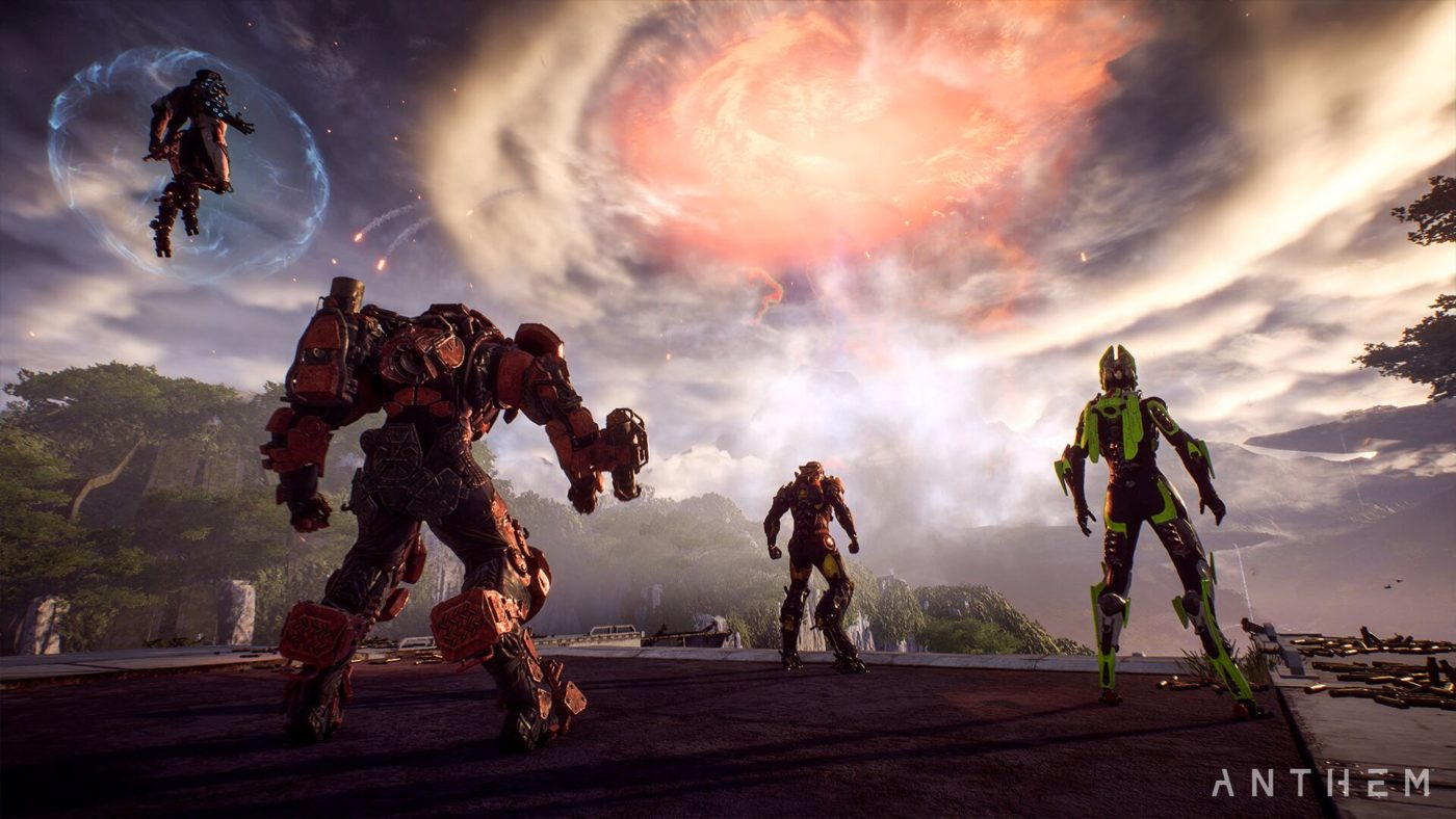 Anthem's post-launch updates will bring cataclysmic events and new areas