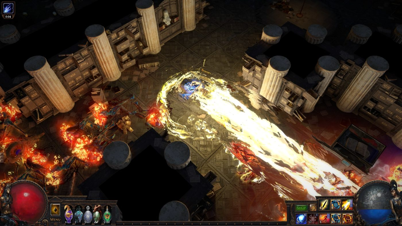 Path Of Exile Ps4 Download Now Live For Us And Eu Along With Free