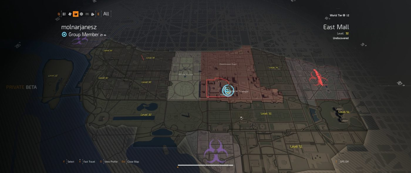 complete the division 2 map, Here's the Complete The Division 2 Map With Districts and Dark Zone Areas, MP1st, MP1st