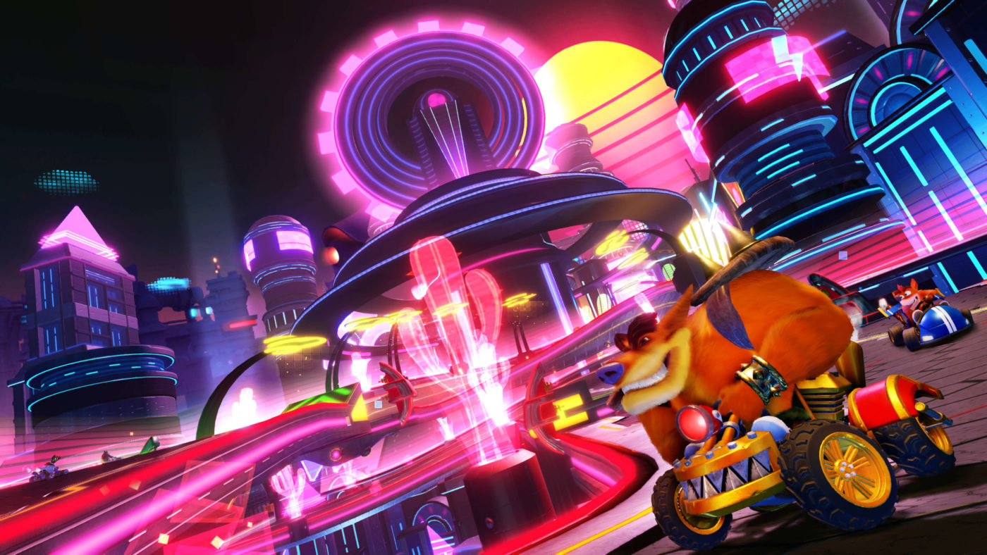new crash team racing nitro fueled trailer