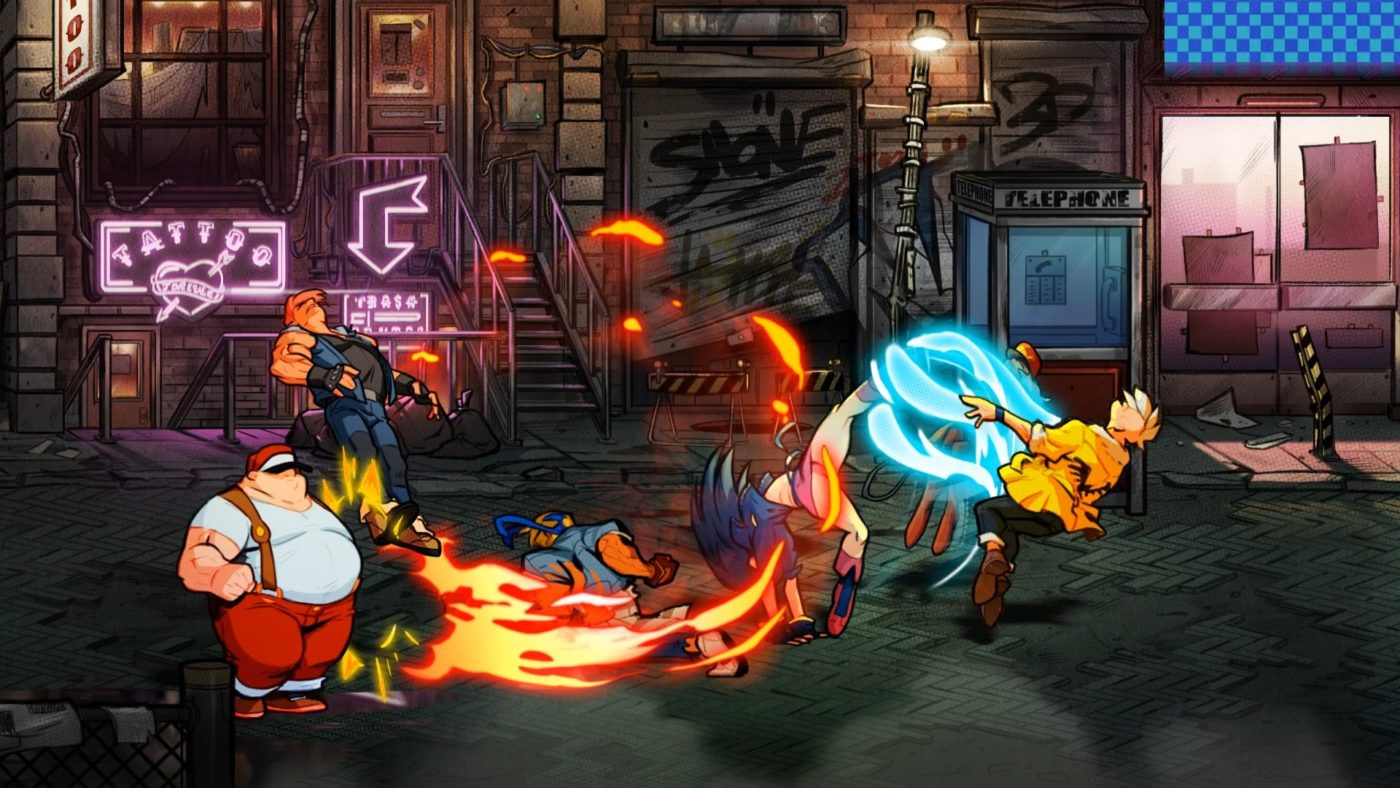 Watch the first gameplay teaser for Streets of Rage 4