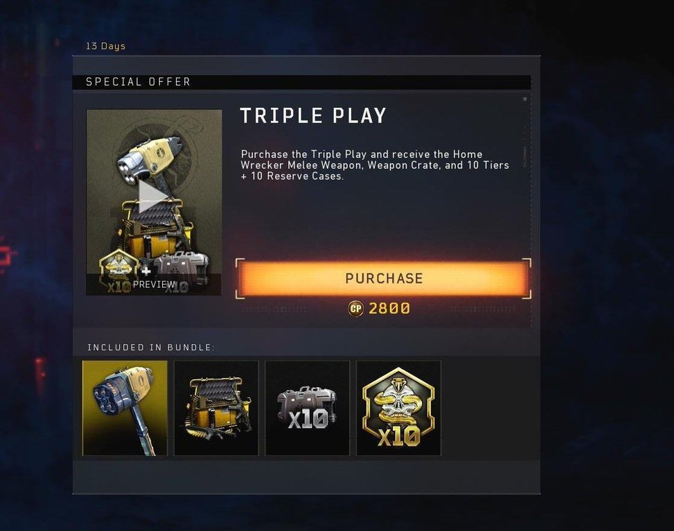 black ops 4 triple play, Call of Duty: Black Ops 4 Triple Play Bundle Introduced in Latest Update Costs Almost Half the Price of the Full Game, MP1st, MP1st