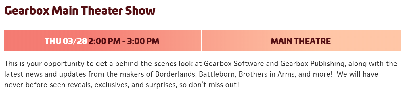 """borderlands 3 reveal, Borderlands 3 Reveal Might Be Imminent as Gearbox Teases """"Never-Before-Seen Reveals"""" at PAX East, MP1st, MP1st"""