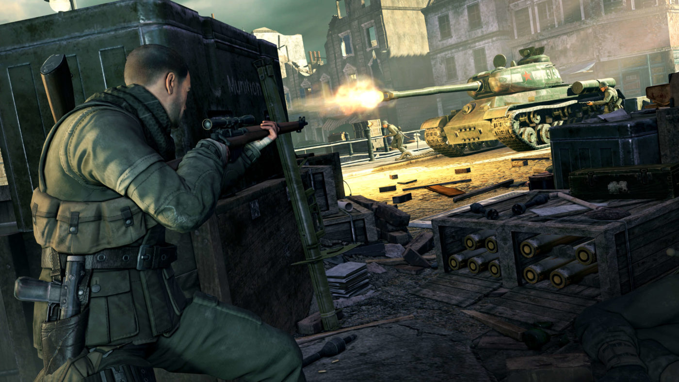 Four New Sniper Elite Projects In Development