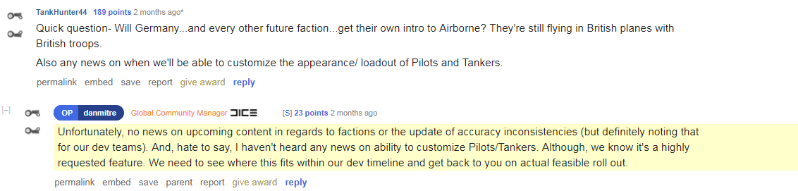 battlefield 5 female soldiers, Battlefield 5 Pilots and Tankers Are Still Locked to Female Characters Only, Community Asking for Options to Change It, MP1st, MP1st