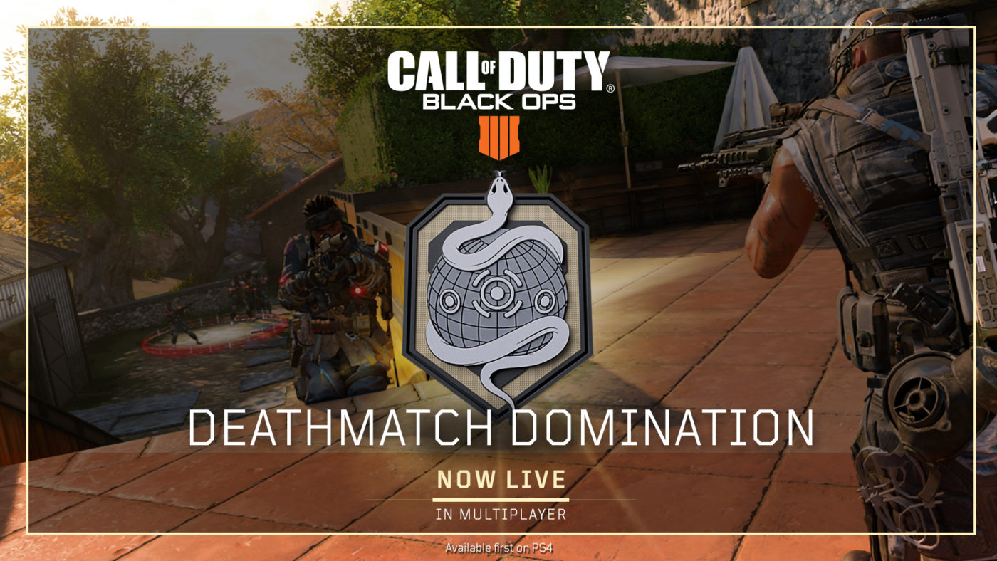 Call Of Duty Black Ops 4 Game Settings Update Today Adds Free