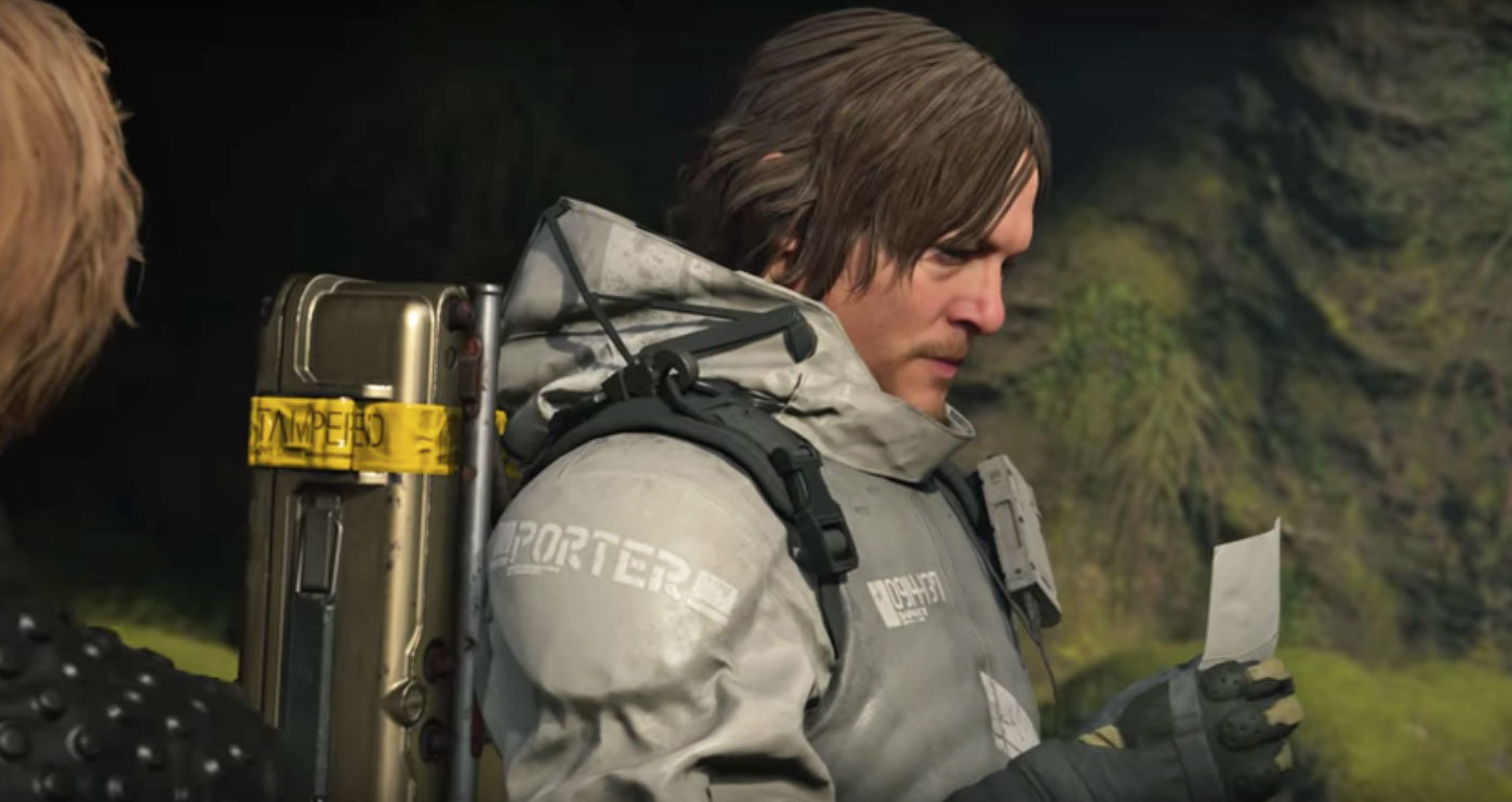 Death Stranding Gamescom gameplay trailer featured Geoff Keighley