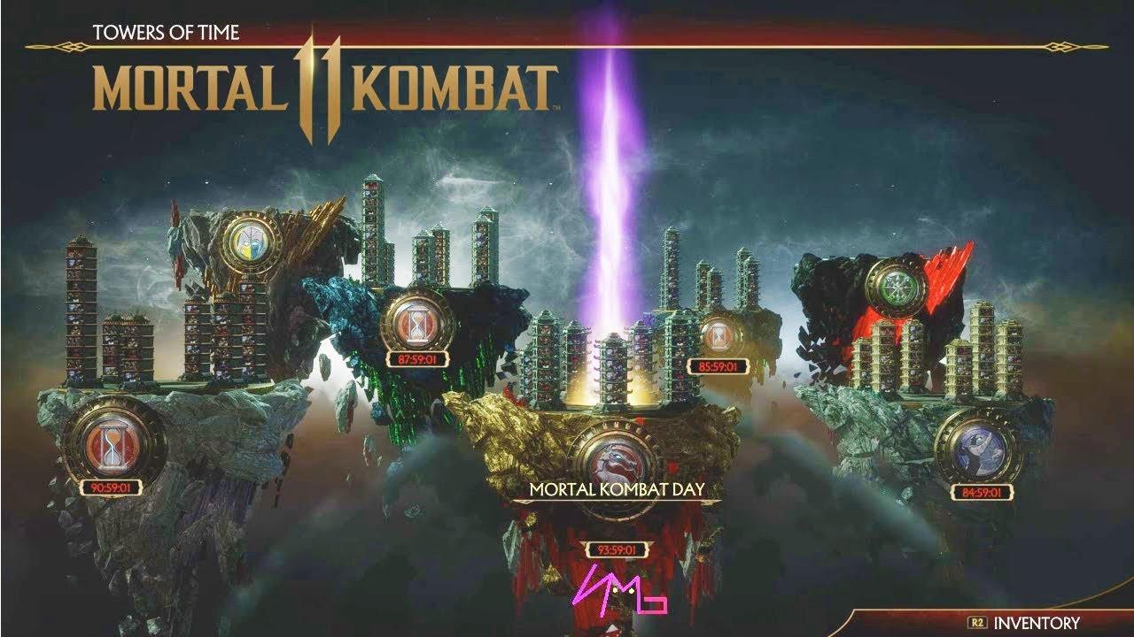 Resultado de imagen de mortal kombat 11 towers