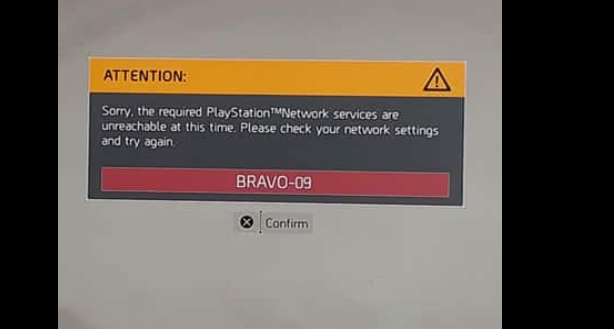 the division 2 down, The Division 2 Down, New Error Code Bravo-09 Showing Up for Gamers, MP1st, MP1st