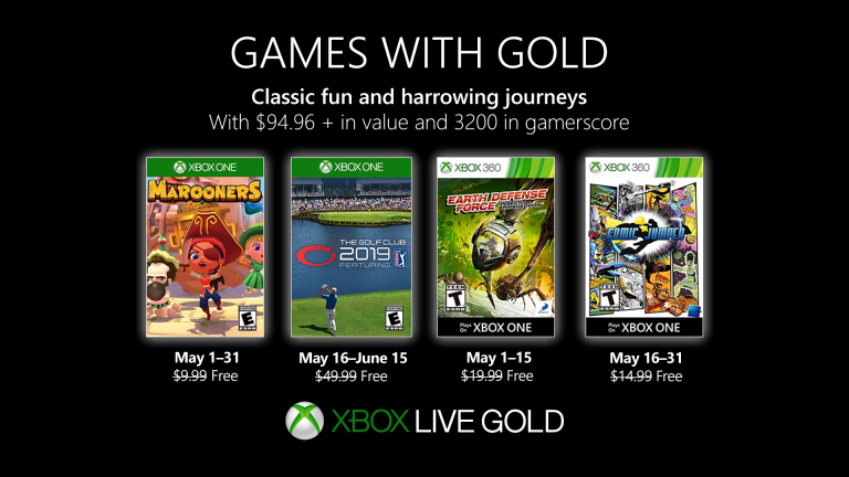 xbox games with gold may 2019, Xbox Games With Gold May 2019 Announced, MP1st, MP1st