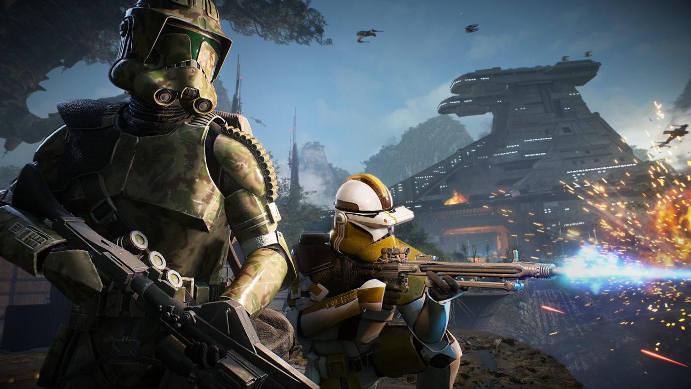 star wars battlefront 2 clone commando abilities