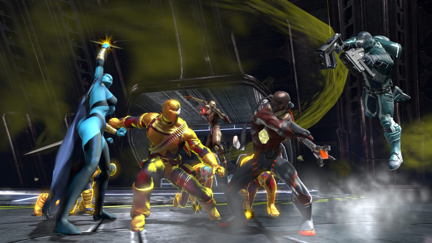 DC Universe Online is coming to Nintendo Switch on summer