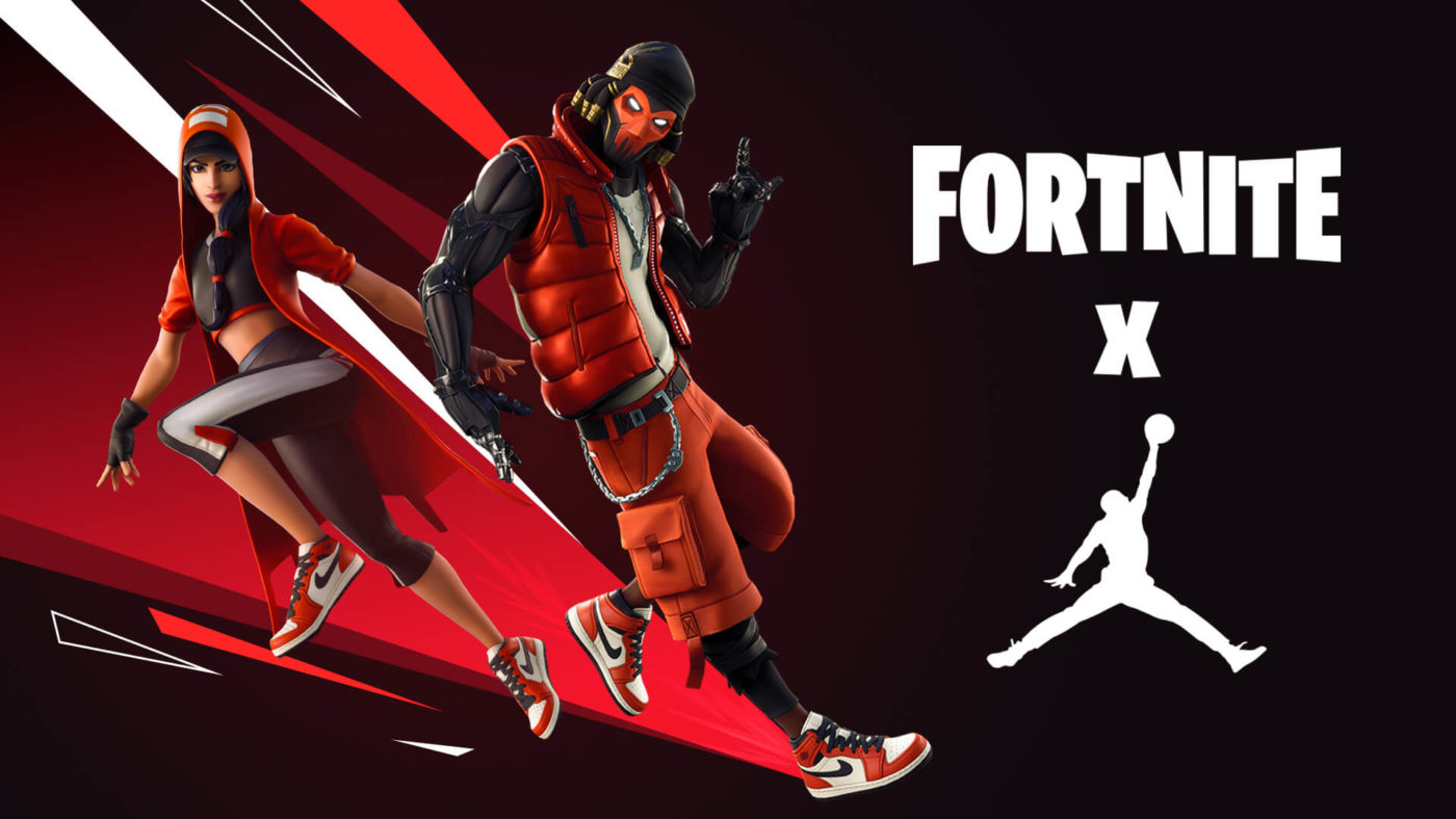 Fortnite X Jordan Cross over!