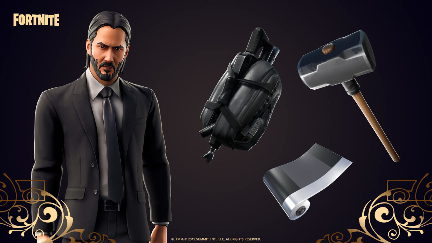 The Fortnite John Wick Event is now here