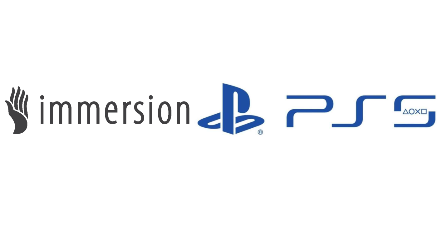 Immersion and Sony made a licensing deal for VR and Gaming controllers for PlayStation 5