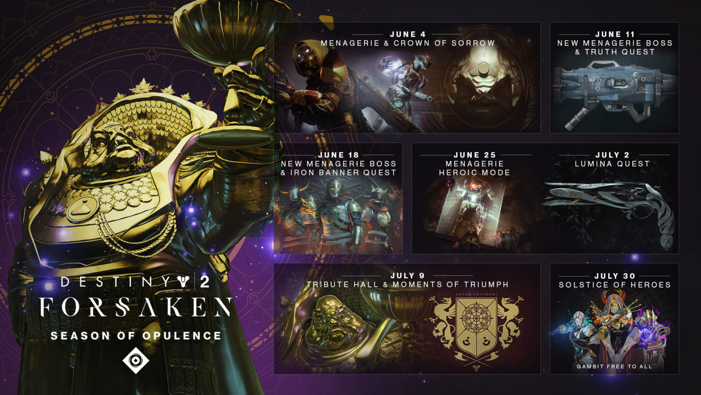 Destiny 2 New Season Release Date, Destiny 2 New Season Release Date Revealed; Check Out What's New in the Season of Opulence, MP1st, MP1st