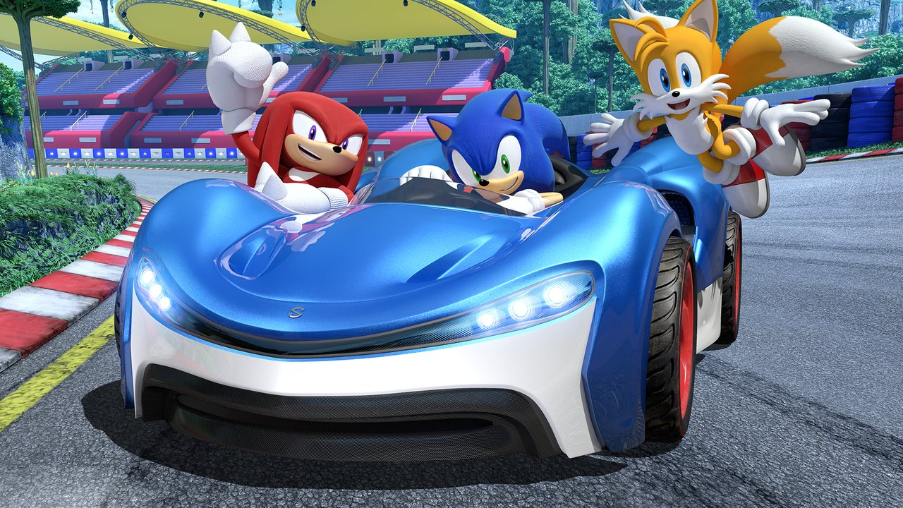 The newest Team Sonic Racing trailer is here!