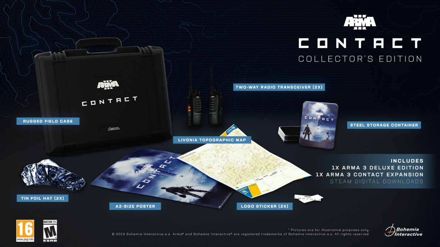 Arma 3 expansion collector's edition