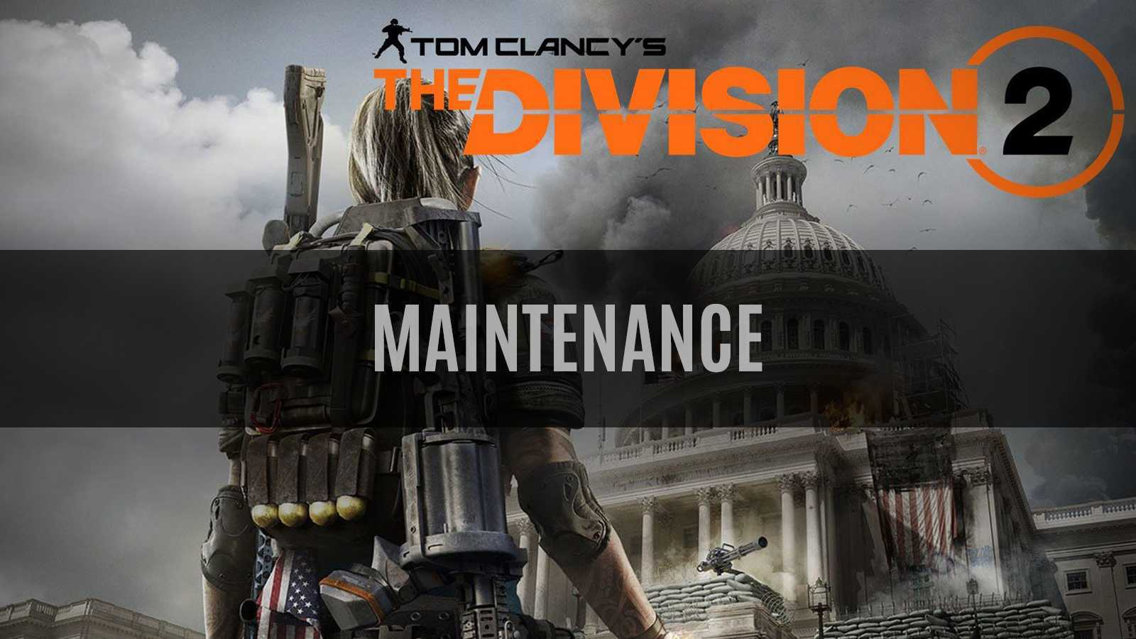 The Division 2 Maintenance Happening Now to Prep for Title Update #4