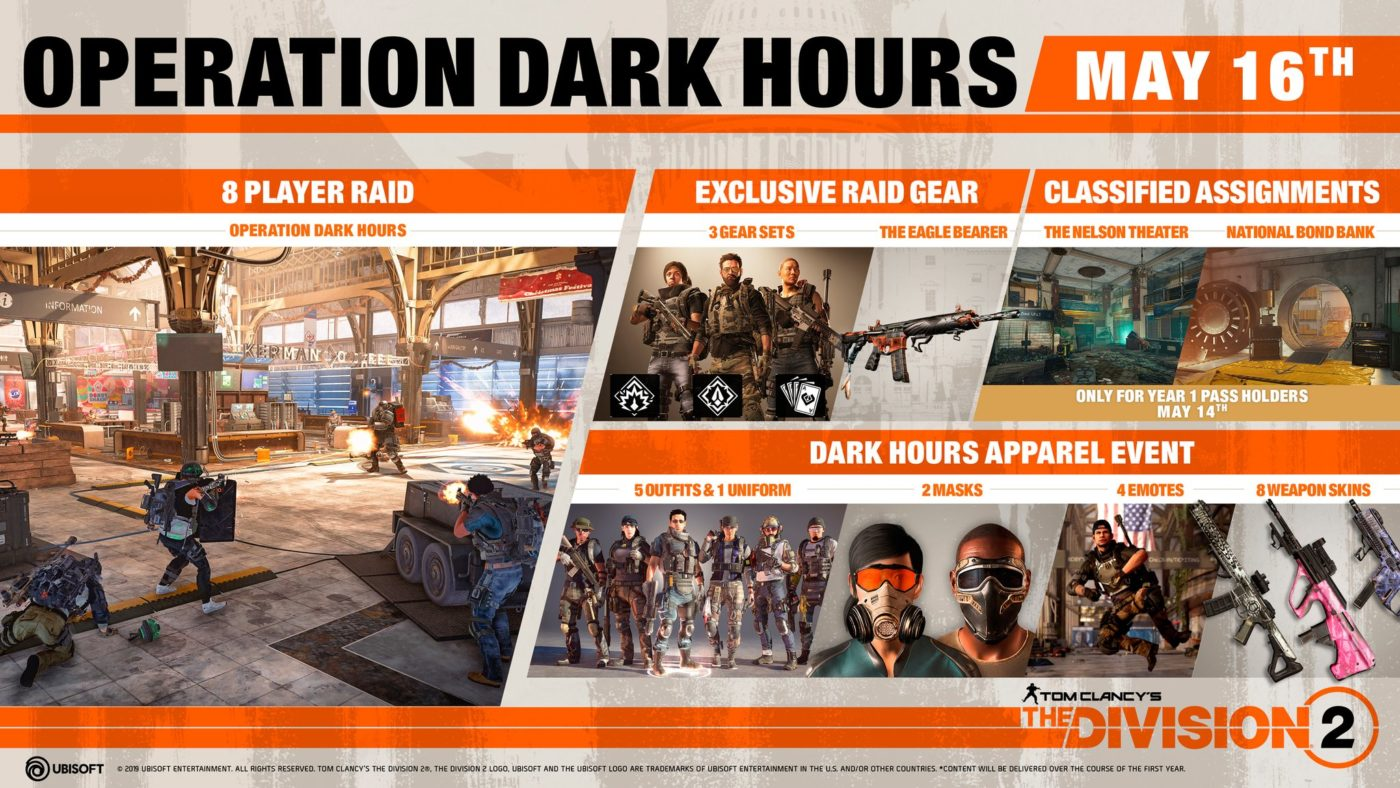 The Division 2 Raid Release Time and Info: Everything You