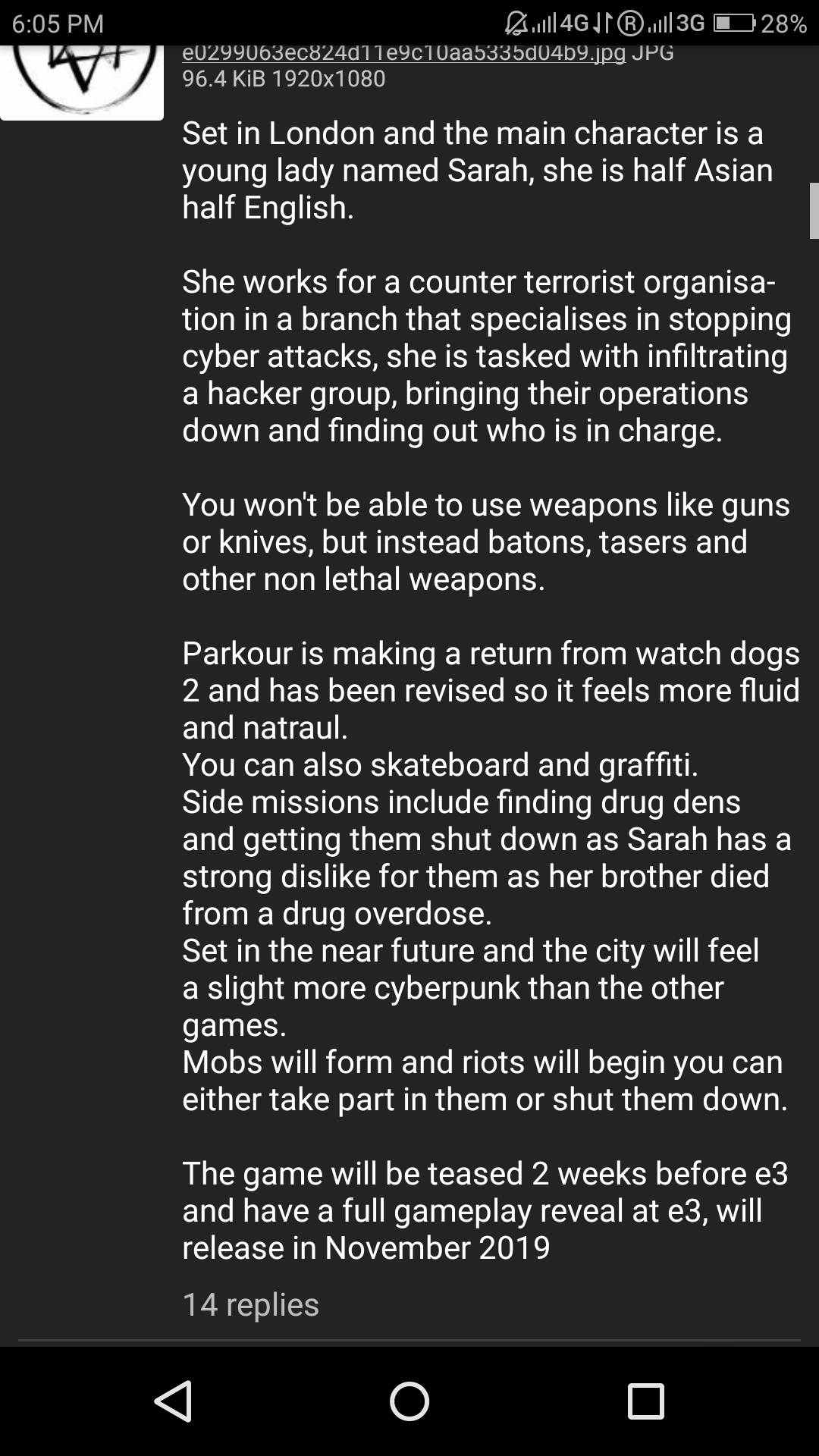 watch dogs 3 info