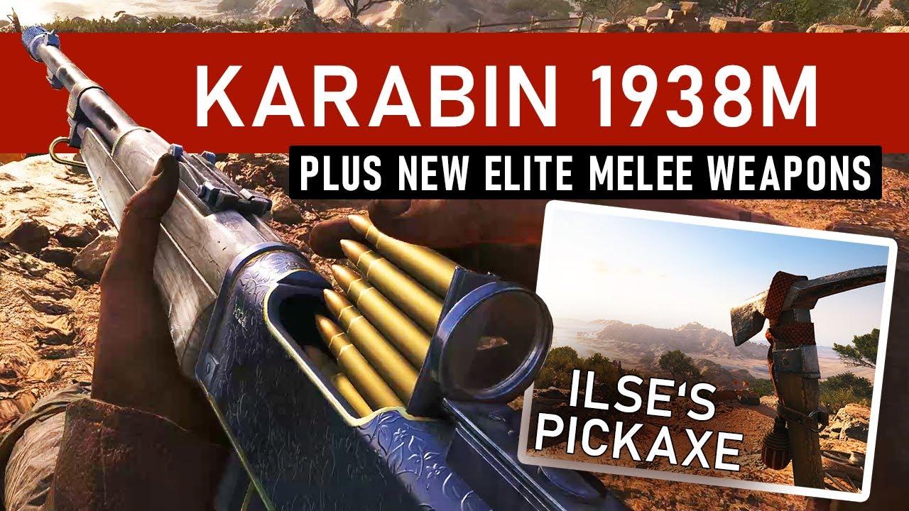 Battlefield 5 melee weapons