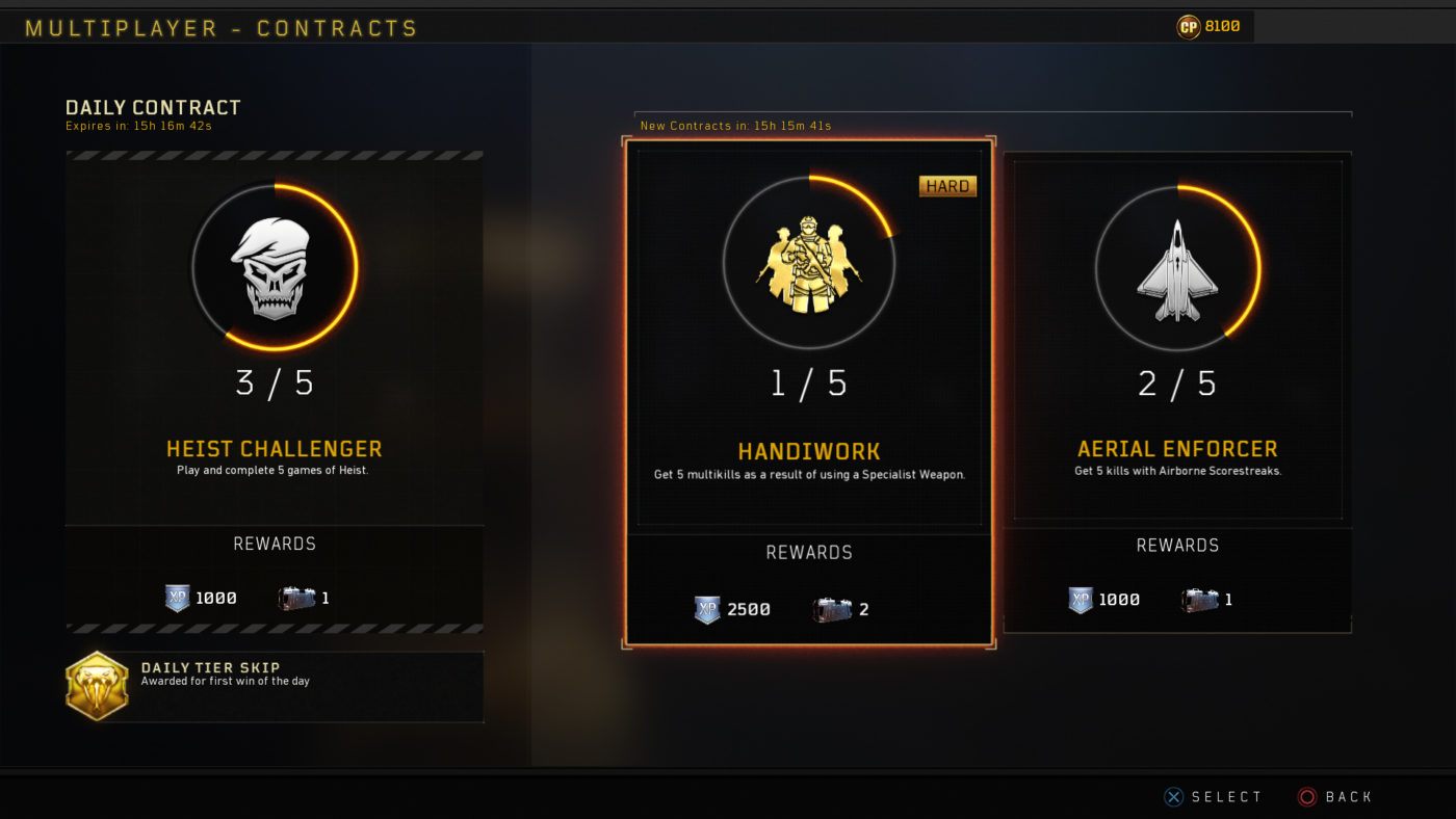 black ops 4 contracts release date