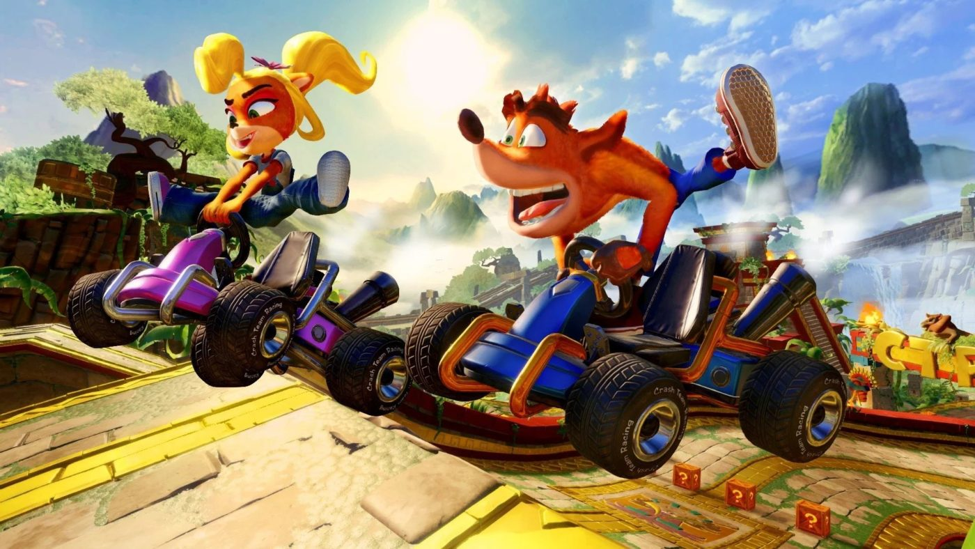 crash team racing nitro fueled review, Crash Team Racing Nitro Fueled Review – Crash and Don't Burn, MP1st, MP1st