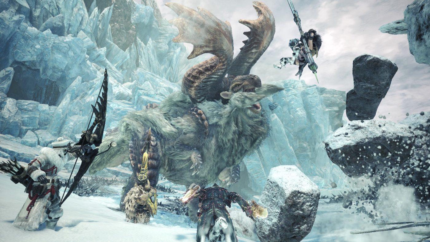 monster hunter world iceborne next update