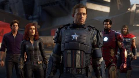 avengers game character designs